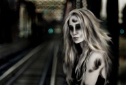 An ancient ghost haunts the sewers and subways of Flatbush. Image by RazzyRagdoll in Deviantart.
